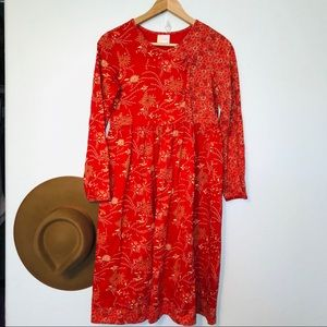Hanna Anderson organic cotton play dress